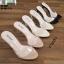 รองเท้าส้นสูงแบบสวม 18-1361-PNK [สีชมพู] thumbnail 4