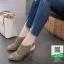 รองเท้าส้นสูง รัดข้อ ฉลุลาย 10177-เทา [สีเทา] thumbnail 2