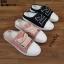 รองเท้าผ้าใบสวมเปิดท้าย ST55-BLK [สีดำ] thumbnail 5