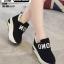 รองเท้าผ้าใบเสริมส้น งานนำเข้า100% ST09-BLK [สีดำ] thumbnail 1