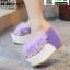รองเท้าหูคีบส้นเตารีด ST821-PUE [สีม่วง] thumbnail 3