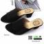 รองเท้าส้นสูงเปิดหน้า 150-39-BLACK [สีดำ ] thumbnail 5