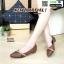 รองเท้าคัชชูงานหนังพียู DC7186-BWN [สีน้ำตาล]