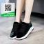 รองเท้าผ้าใบนำเข้าสุคชิค พื้นยางอย่างดี (สีดำ ) thumbnail 6