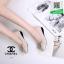 รองเท้าคัทชูหัวตัดสีครีม หนังนิ่มมีรูระบายอากาศ (สีครีม ) thumbnail 2