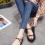 รองเท้าแตะสายไขว้ พื้นหนา 1372-RED [สีแดง] thumbnail 4