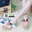 รองเท้าสายสุขภาพแต่งดอกไม้สวยงาม L2027-WHT [สีขาว] thumbnail 4