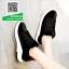 รองเท้าผ้าใบนำเข้าสุคชิค พื้นยางอย่างดี (สีดำ ) thumbnail 4