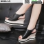 รองเท้าทรงเตารีดแบบรัดท้าย ST3302-BLK [สีดำ] thumbnail 1