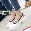 รองเท้าผ้าใบ สไตล์สุขภาพ Q-088-WHI [สีขาว] thumbnail 3