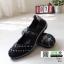 ผ้าใบยางยืด เพื่อสุขภาพเท้า 052-ดำ [สีดำ] thumbnail 3