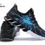 รองเท้าผ้าใบ หนัง PU ลายสุดแนว-blue 919 [สีน้ำเงิน] thumbnail 4