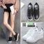 รองเท้าสวมส้นสูงหนัง pu AY077-BLK [สีดำ] thumbnail 2