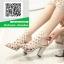 รองเท้าส้นตัน สไตล์Schutz G711101-CRE [สีครีม]