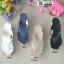 รองเท้าแตะคีบญี่ปุ่น V1009-ดำ [สีดำ] thumbnail 4