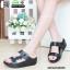 รองเท้าเพื่อสุขภาพ ฟิทฟลอป สายคาดคู่ L2807-BLK [สีดำ] thumbnail 2