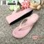 รองเท้าสไตล์ลำลองแบบหนีบ JK8059-PNK [สีชมพู] thumbnail 2