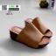 รองเท้าส้นเตารีดหน้าเต็ม 960-15-แทน [สีแทน] thumbnail 3