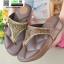 รองเท้าพื้นโซฟาเพชรสวารอฟสกี้ 999-658-ตาล [สีตาล] thumbnail 4