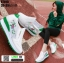 รองเท้าผ้าใบเสริมส้น ST010-GRN [สีเขียว] thumbnail 1