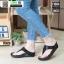 รองเท้าสุขภาพสไตล์ฟิตฟรอปผ้านิ่มมาก F1084-BLK [สีดำ] thumbnail 1