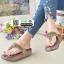 รองเท้าพื้นโซฟาเพชรสวารอฟสกี้ 999-658-ตาล [สีตาล] thumbnail 3