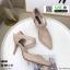 รองเท้าคัชชูหุ้มท้ายส้นเข็ม K9340-CRM [สีครีม] thumbnail 3