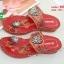 รองเท้าแตะแฟชั่นสีแดง Flowery Sandals (สีแดง ) thumbnail 4