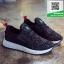 รองเท้าผ้าใบเสริมส้นสีดำ ทรงSport (สีดำ ) thumbnail 1