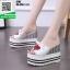 รองเท้าแบบสวมส้นเตารีด ST07-WHI [สีขาว] thumbnail 2