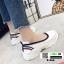 รองเท้าผ้าใบ สไตล์สุขภาพ Q-088-WHI [สีขาว] thumbnail 4