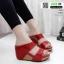 รองเท้าเตารีด Wedge shoe 2 ตอนหุ้มส้น 1146-แดง [สีแดง] thumbnail 2
