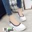 รองเท้าผ้าใบ สไตล์สุขภาพ Q-088-WHI [สีขาว] thumbnail 2