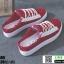 รองเท้าผ้าใบแฟชั่นเปิดท้าย ST509-RED [สีแดง] thumbnail 3