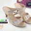 รองเท้าส้นสูงเปิดส้น B231-6-GLD [สีทอง] thumbnail 3