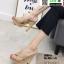 รองเท้าส้นสูงแบบสวม 3006-5-KHA [สีกากี] thumbnail 1