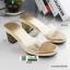 รองเท้าส้นสูงทรงสวยมากค่ะ 8416-GOLD [สีทอง] thumbnail 1
