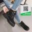 รองเท้าบูทหุ้มข้อสีชมพู สไตล์เกาหลี (สีชมพู ) thumbnail 2