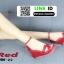 รองเท้าลำลองส้นเตารีด สไตล์แบรนด์ HERMES HW-22-RED [สีแดง] thumbnail 4