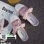 รองเท้าผ้าใบสวมเปิดท้าย ST55-PNK [สีชมพู] thumbnail 4