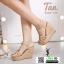 รองเท้าส้นเตารีด สไตล์เกาหลี 3082-129-TAN [สีแทน] thumbnail 2