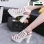 รองเท้ารัดส้นเปิดท้ายส้นแท่ง ST005-WHI [สีขาว] thumbnail 2