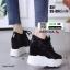 รองเท้าผ้าใบเสริมส้น A57-BLK [สีดำ] thumbnail 1