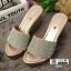 รองเท้าส้นเตารีด สไตล์แบรนดัง RU40-PINK [สีชมพู] thumbnail 2