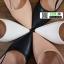 รองเท้าคัชชู วัสดุหนังPU K9336-PNK [สีชมพู] thumbnail 5