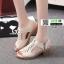 รองเท้าส้นสูงนำเข้า งานคุณภาพเหมือนแบบ 1089-ครีม [สีครีม] thumbnail 2