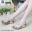 รองเท้าสุขภาพ ฟิทฟลอปหนีบ แต่งดอกไม้ F1080-GLD [สีทอง] thumbnail 2