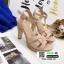 รองเท้าส้นสูง สไตล์แบรนด์เนม 3006-35-PINK [สีชมพู] thumbnail 3