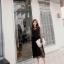 งานเกาหลี รองเท้าส้นสูงแบบสวม เปิดท้าย ด้านหน้าทรงวี G-1467-GRN [สีเขียว] thumbnail 3