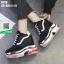 รองเท้าผ้าใบเสริมส้น ST26-BLK [สีดำ] thumbnail 5
